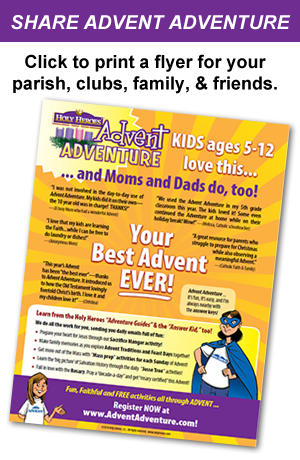 Advent flyer
