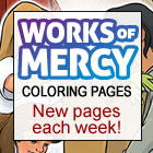 Works of Mercy coloring page