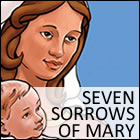 Seven Sorrows of Mary coloring pages