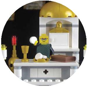 Fr Leopold Lego set