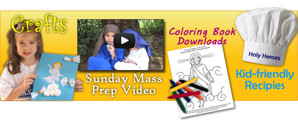 Free Catholic Kids Activities