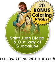 Juan Diego coloring pages