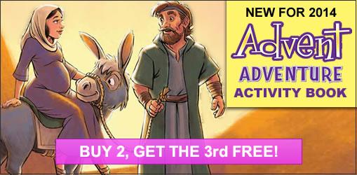Advent Adventure Activity Book