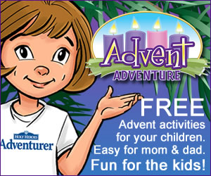 Advent Adventure children's activity