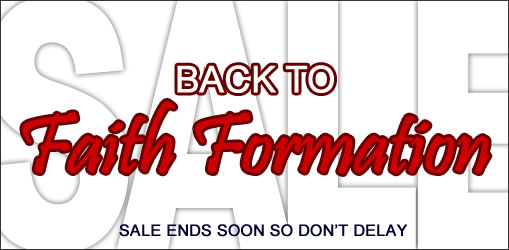 Back to Faith Formation Sale