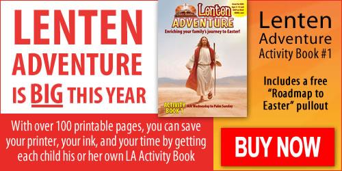 Lenten Adventure activity book
