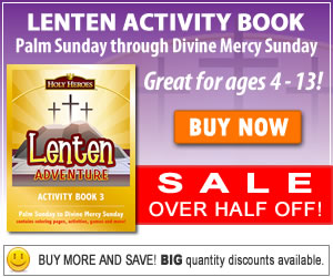Lent Activity book