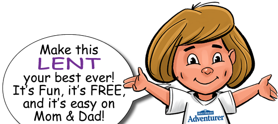 Free Lent Activities for kids