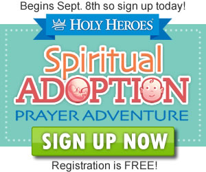 Spiritual Adoption free activities